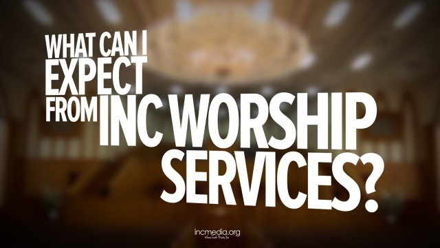 What can I expect from INC Worship Services?