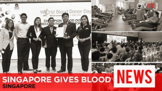 Singapore Gives Blood